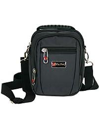 c40fcc5de5755 Kleine Umhängetasche für Männer Schultertasche Herren Tasche schwarz  crossover Bag auch als Gürteltasche ...