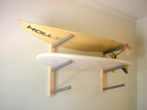 PRO Planche pour planche de surf, Wakeboard, Kiteboard Support mural Support-Peut contenir 3planches