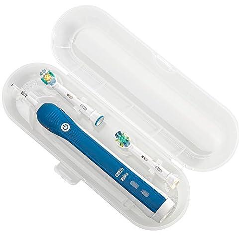 Nincha Portable de remplacement Plastique Trousse de voyage pour brosse à dents électrique Oral-B PRO Series