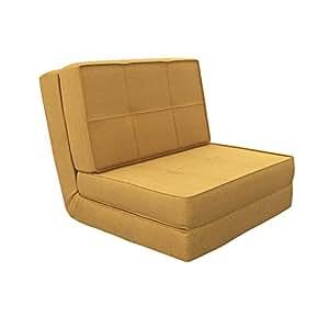 Camabeds Isten Floor Futon Sofa Cum Bed (Brown)