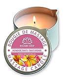 BOUGIES SHOP Bougie de Massage Fleur de Monoï