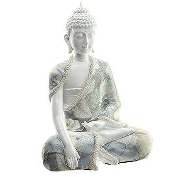 Decorativo floral Relajación figura decorativa de Buda 7