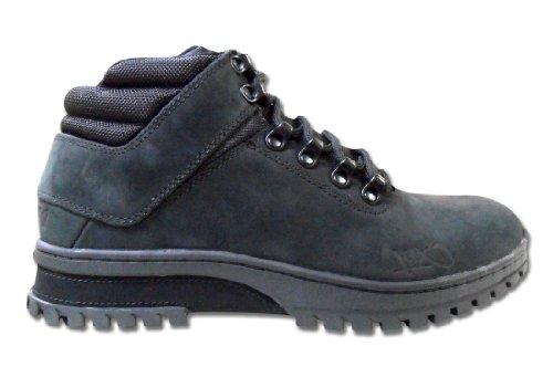 K1X h1ke territory superior mk2 Herren Hohe Sneakers Schwarz/Braun