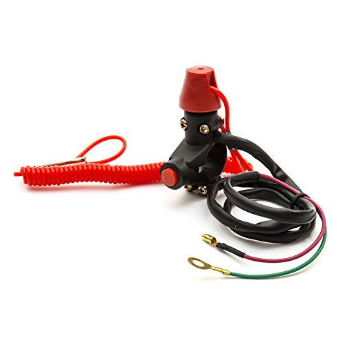 Price comparison product image Teather Cut Off Cut Out Engine Kill Switch Lanyard Quad Buggy Mini Moto Pit Bike