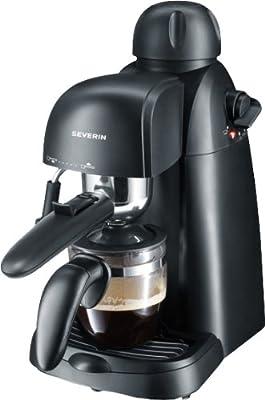 Espressoautomat schwarz 800 Watt