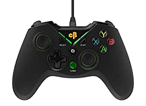Cosmic Byte C1070T Interstellar Wired Gamepad for PC/PS3/Android support for Windows XP/7/8/10, Rubberized Texture, Drivers