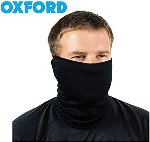 MEN WOMEN THERMAL NECK WARMER OXFORD COSY NECK TUBE MOTORBIKE NECK SCARF