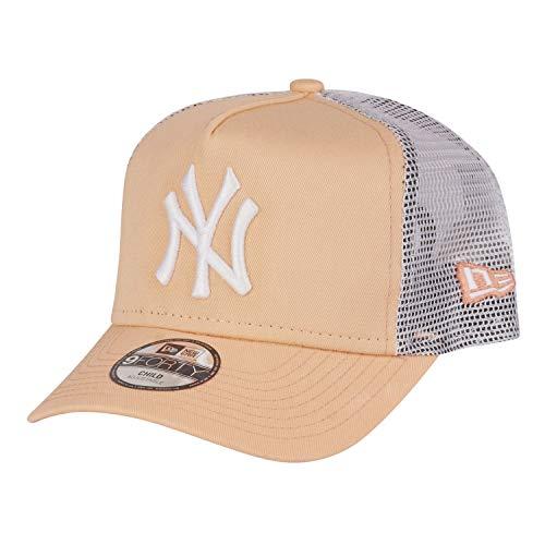 New Era 9Forty Kinder Trucker Cap - NY Yankees Peach - Toddl