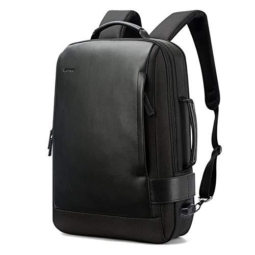 F-JX Unisex-Reise-Laptop-Rucksack mit USB-Ladeanschluss, Berufsgeschäfts-Rucksack-Tasche, Wasserabweisende Aktentasche, Großraumrucksack für Beruf/Uni