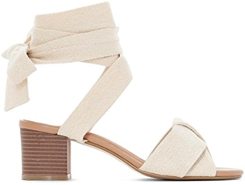 CASTALUNA Donna Sandali da Annodare Annodare Annodare alla Caviglia A Pianta Larga 3845 | acquistare  97fdb5