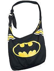 Batman Logo Bolso negro/amarillo