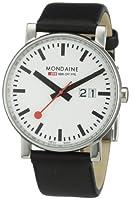 Reloj de caballero Mondaine A627.30303.11SBB de cuarzo, correa de piel color negro de Mondaine