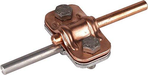 Dehn 460517Dreistockklemme Schiebe Rauchgasthermometer 8–10/8–10mm Cu/St/tZn