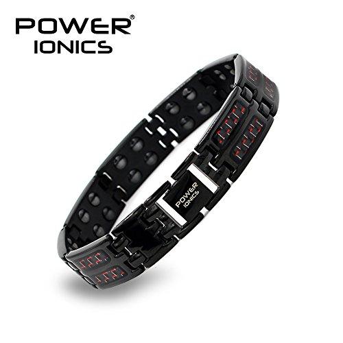 0039eb3ecadd Power Ionics Original Paracord pulsera Power Ionics pulsera Energía Wrist  Band Pulsera Magnética 3000 multifunción Smart