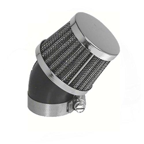 28mm 45° Tuning Sport Luftfilter - Air Filter für Motorrad Roller Quad Moped Mofa