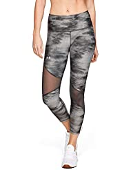 Under Armour Women's Ua Hg Ankle Crop Print Capri