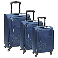 Kamiliant 62O Gaho Luggage Set 3-Pieces - Blue