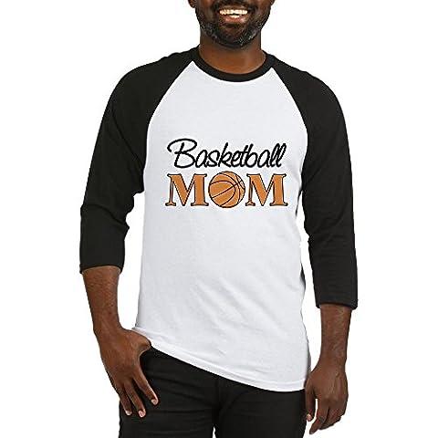 CafePress - Basketball Mom - Cotton Baseball Jersey, 3/4 Raglan Sleeve Shirt