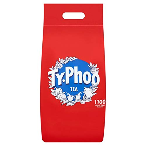 Brand New. Typhoo Tea Bags Vacuum-packed 1 Cup Ref A00786 [Pack 1100]