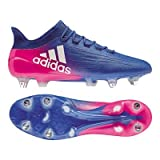 adidas Herren Fussballschuhe X 16.1 SG BLUE/FTWWHT/SHOPIN 42 2/3