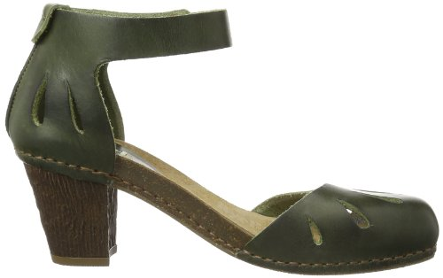 ART I MEET, chaussures compensées femme Vert - Grün (PRADO)