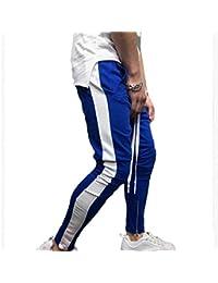 5e554a6a499a5 Yying Hombres Casual Pantalones Deportivos Cremallera Pies Pantalones  Casuales Hombres Harem Pantalones Deportivos Pantalones Casual Jogger