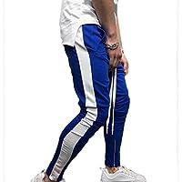 Yying Hombres Casual Pantalones Deportivos Cremallera Pies Pantalones Casuales Hombres Harem Pantalones Deportivos Pantalones Casual Jogger Sportwear Baggy Hiphop Pantalones M-3Xl