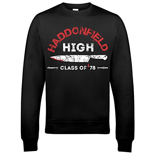 9227 Haddonfield High School Herren Sweatshirt Halloween Friday The 13th John Carpenter Michael Myers - Haddonfield High Halloween