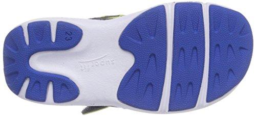 Superfit  AITO, {Chaussures premiers pas pour bébé (garçon) Gris - Grau (STONE MULTI 07)