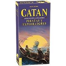 DEVIR Catan, Piratas y Exploradores, Juego de tablero, ampliación para 5-6 jugadores