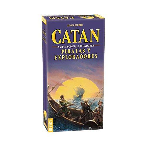 Devir Catan, Piraten und Entdecker, Brettspiel, Erweiterung für 5–6Spieler