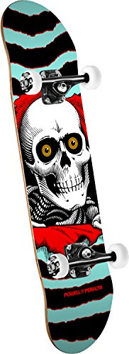 powell-peralta Ripper One aus (New) Standard Skateboard, türkis/rot -