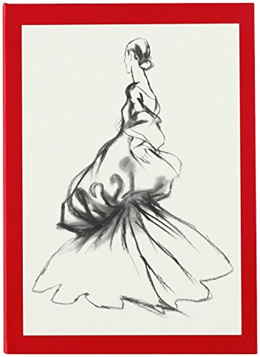 Victoria und Albert Museum der Metropolitan Museum of Art Charles James Notebook, 10,8 x 15,2 cm (Bordüre) -