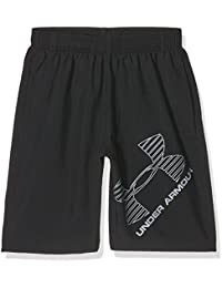 Under Armour Ua 8 Woven Graphic Short, Pantalón Corto Para Hombre, Negro (Black), L