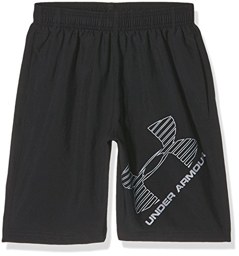 Under Armour UA 8 Woven Graphic Pantaloncini, Nero (Nero),