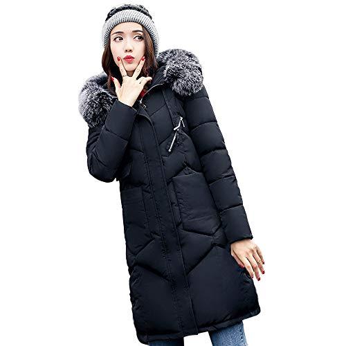 dd1c7f3ba ZARLLE_Mujer Abrigos Abrigo Mujer Largo, Larga Chaqueta Invierno Otoño Slim  Fit Chaquetas de Plumas con