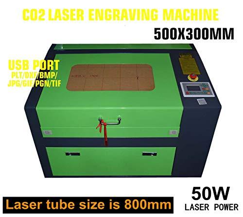 50W LASER ENGRAVING ENGRAVER SCHNEIDER HOCHPRÄZISE USB CO2 LASER GRAVIERMASCHINE