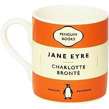 Mug - Jane Eyre - Charlotte Bronte. Orange: Penguin Merchandise