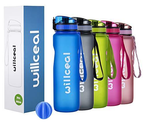Sport Trinkflasche, BPA Frei Tritan, 1L (36oz),