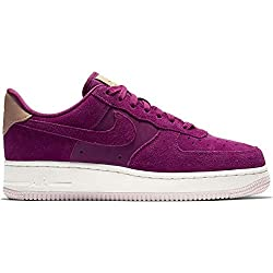 Nike Damen WMNS Air Force 1 '07 PRM Basketballschuhe, Mehrfarbig True Berry/Summit White 602, 40 EU