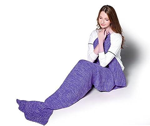Motif Costume Mermaid - Knitting Motif Mermaid Tail Blanket par S-D,