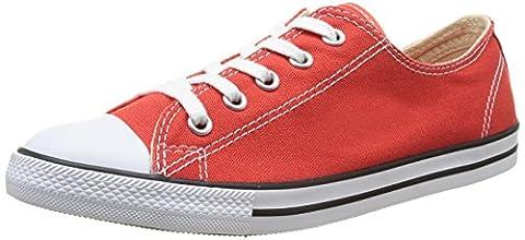 Converse As Dainty Ox, Baskets mode mixte adulte - Rouge, 38 EU