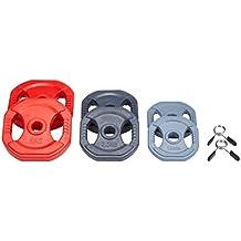 AFW 106115 - Set pump en goma gris/rojo/negro, talla M