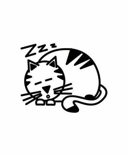 altium-3007201-adesivo-di-gatto-che-dorme-colore-nero