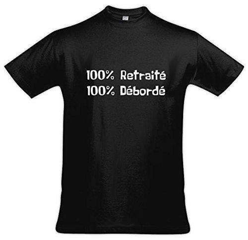 LODAFON Herren T-Shirt schwarz schwarz Schwarz
