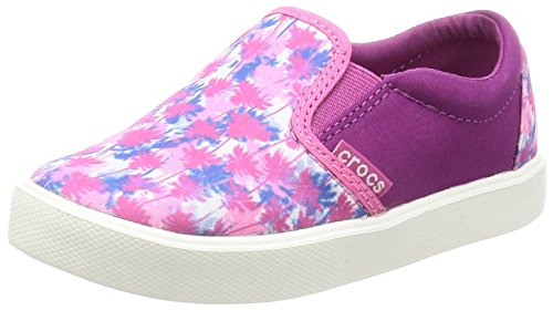 crocs Unisex-Kinder Citilnnovlslpk Low-Top, Pink (Pink Palm), 32-33 EU