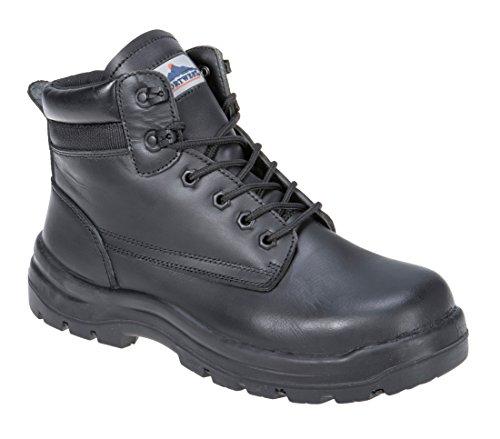 Portwest FD11foyle-chaussure di sicurezza S3HRO CI HI Nero