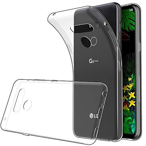 Simpeak Ersatz für LG G8 ThinQ Hülle [6,1 Zoll], Silikon Transparent Clear TPU SchutzHülle Case handyhülle für LG G8 ThinQ