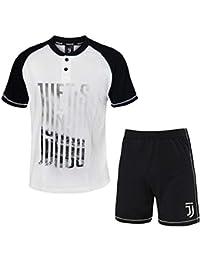94f0b24b86 PLANETEX Pigiama Homewear Uomo Juventus Prodotto Ufficiale Cotone Art.14076