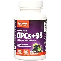 Jarrow Formulas OPCs + 95 100 mg, Suports Cardiovascular Health, 100 Caps
